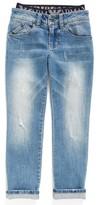 Armani Junior Boy's Straight Leg Jeans