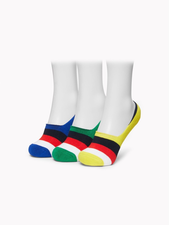 Tommy Hilfiger Big Kids Socks 12 Pack Unisex Ankle Sock Liners for Boys and Girls