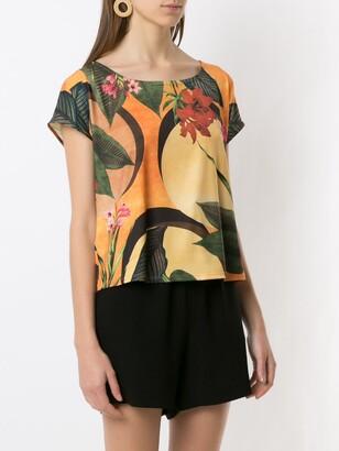 Lygia & Nanny Simi floral-print T-shirt