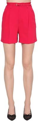 RED Valentino High Rise Stretch Shorts