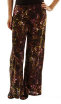 24/7 Comfort Apparel Elegance With Effort Palazzo Pants