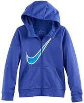 Nike Girls 7-16 Swoosh Zip-Up Hoodie