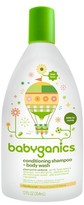 BabyGanics 2-in-1 Conditioning Shampoo & Body WashChamomile Verbena - 12oz