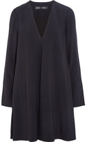 Proenza Schouler Crepe Mini Dress - Black