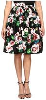 Unique Vintage Cotton Swing Skirt
