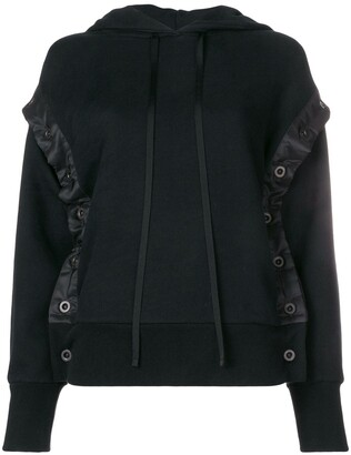 Unravel Project Shell Trim Hoodie