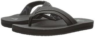 Sanuk Rootbeer Cozy Light (Little Kid/Big Kid) (Black) Boys Shoes