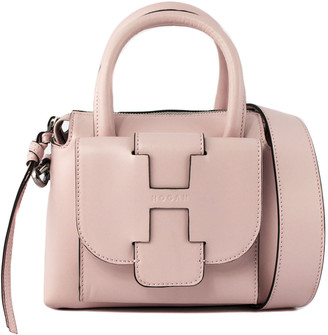 Hogan Pink Leather Bag