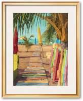 "Art.com Painting On A Smile"" Framed Art Print by Robin Renee Hix"