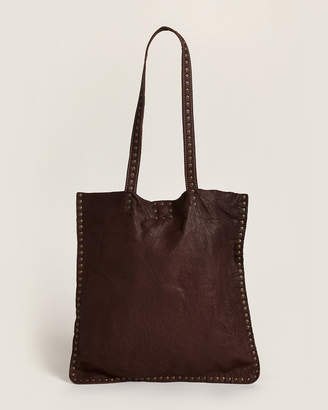 Latico Leathers Brown Scout Stud Tote