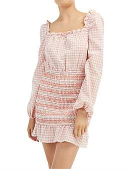 The Fifth Label Iris Check Ls Dress