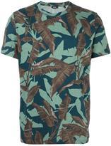 Diesel feather print T-shirt