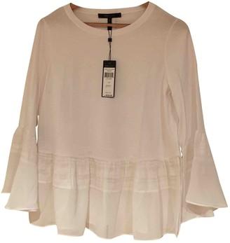 BCBGMAXAZRIA White Cotton Top for Women
