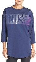 Nike Women's Logo Graphic Sweatshirt