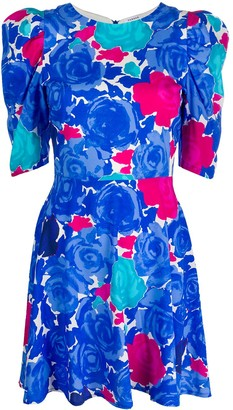 P.A.R.O.S.H. Sotty floral print dress