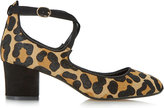 Dune Ani leopard-print courts