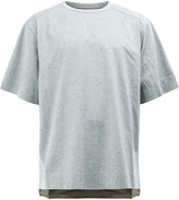 Juun.J box pleat T-shirt - men - Cotton - 46