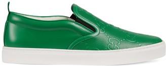 Gucci Men's GG embossed slip-on sneaker