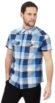 Wrangler Navy Large Checked Print Regular Fit Shirt