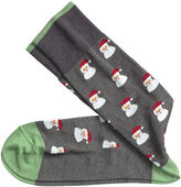 Johnston & Murphy Santa Socks
