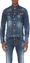 DSQUARED2 Mandarin-collar denim jacket
