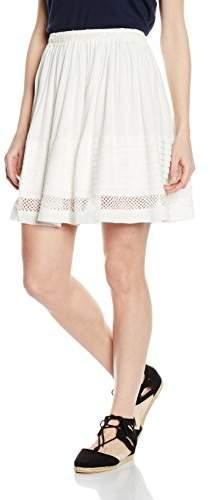 Suncoo Women's Plain Skirt - White