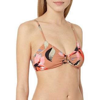 Bikini Lab Junior's Over The Shoulder Triangle Bra Bikini Swimsuit Top
