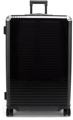 Fabbrica Pelletterie Milano - Bank Light Spinner 76 Aluminium-trim Suitcase - Black