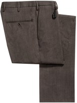 Incotex Sergio Stretch Wool Gabardine Dress Pants - Slim Fit (For Men)