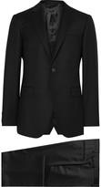 Lanvin - Black Slim-fit Wool And Cashmere-blend Suit