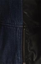 Steve Madden Mixed Media Scuba Jacket