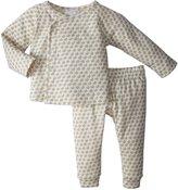 Serena & Lily Mercer Layette Set (Baby) - Mocha-3-6 Months