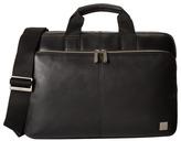 Knomo London Newbury Leather Laptop Briefcase