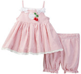 Laura Ashley Cherry Short 2-Piece Set (Baby Girls 0-9M)