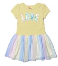 Epic Threads Toddler Girls Text Tutu Dress