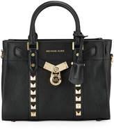 MICHAEL Michael Kors Nouveau Studded Leather Satchel Tote Bag