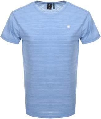G Star Raw Starkon Logo T Shirt Blue