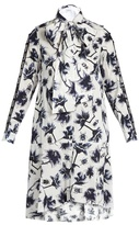 Osman Suzie floral and bug-print cotton-poplin dress