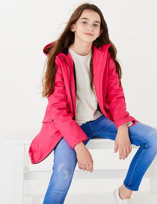 Marks and Spencer Stormwear Hooded Fisherman Raincoat (6-16 Yrs)