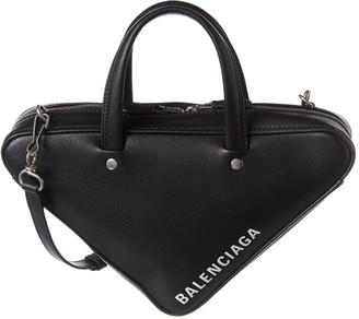 Balenciaga Triangle Duffle Xs Leather Shoulder Bag