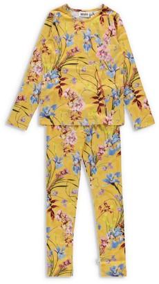 Molo Art of Flowers Tibs Pyjama Set (2-14 Years)