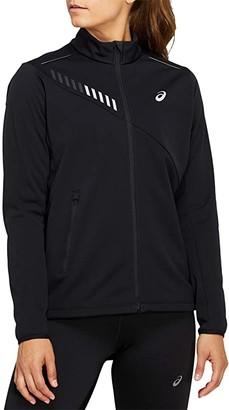 Asics Lite-Show Winter Jacket (Performance Black/Graphite Grey) Women's Coat