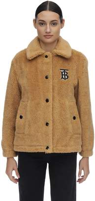 Burberry Wool Blend Teddy Jacket