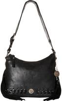 American West River Ranch Slouch Zip Top Shoulder Bag
