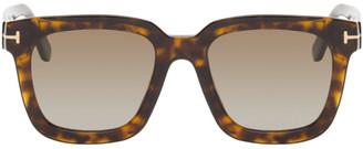 Tom Ford Tortoiseshell Sari Sunglasses