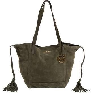 Michael Kors Khaki Suede Handbags