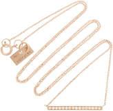 VANRYCKE Medellin 18K Rose Gold Diamond Necklace