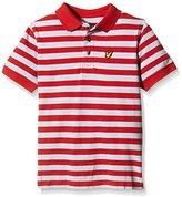 Lyle & Scott Boy's Fine Striped Polo Shirt,Years