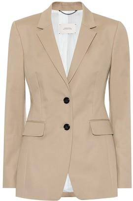Dorothee Schumacher Bold Silhouette stretch-cotton blazer