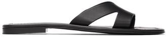 Kenzo Black Opanka Flat Sandals